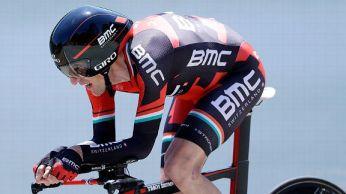 Skinny cyclist arms